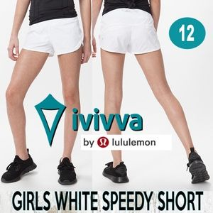 Ivivva Speedy Short White